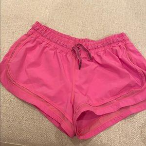 Lulu lemon pink shorts